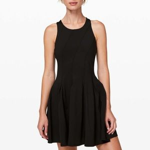 NWT Lululemon Black Court Crush Dress sz 2
